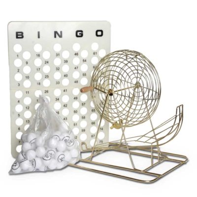 Bingo Accessories Deluxe bingo game you can play at home
