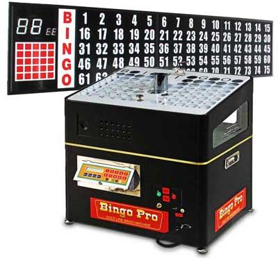 Complete Bingo Systems-bingo verifying machine with 8 ft. flashboard
