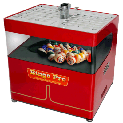 Portable Tabletop Bingo Machines