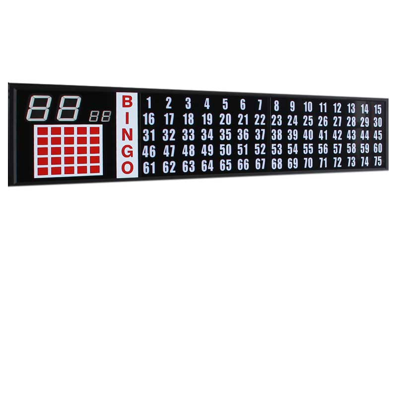 5 ft. Flash Board With 2 in. Numbers