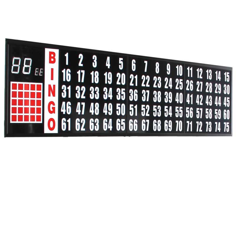 8 ft. Flash Board With 3.5 in. Numbers