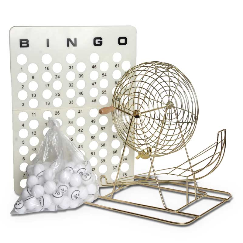 Deluxe bingo game you can play at home