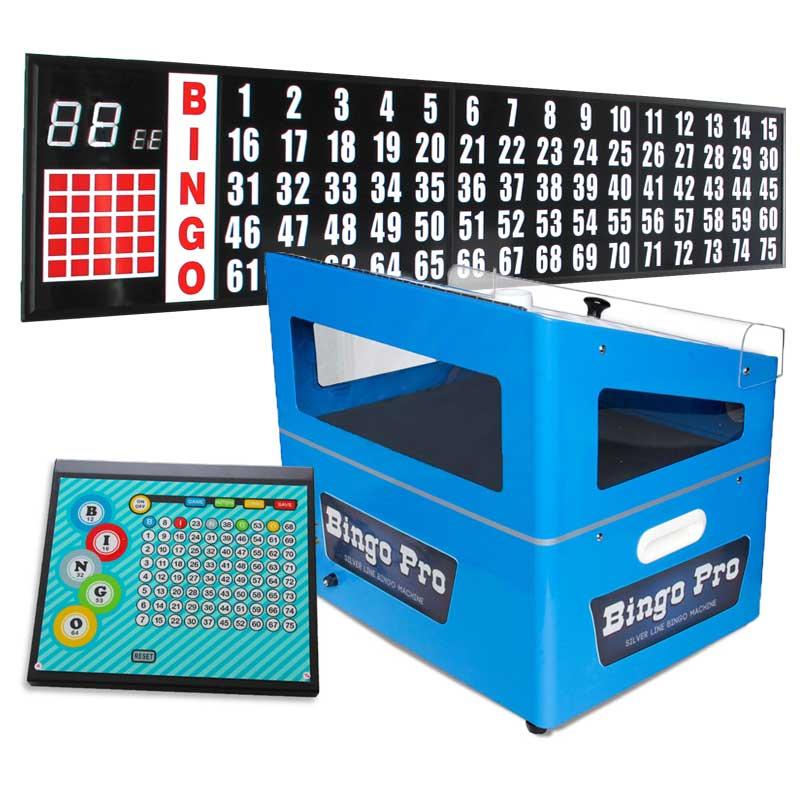 Complete Bingo Systems | Bingo Machine | 8ft  Flashboard