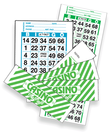 Casino Bingo Cards