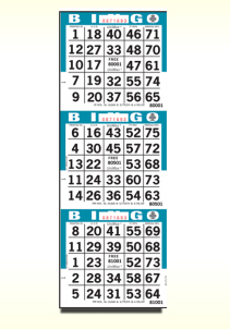 Unimax Random Bingo Paper