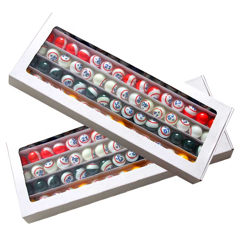 Premium, Professional Quality Bingo Balls