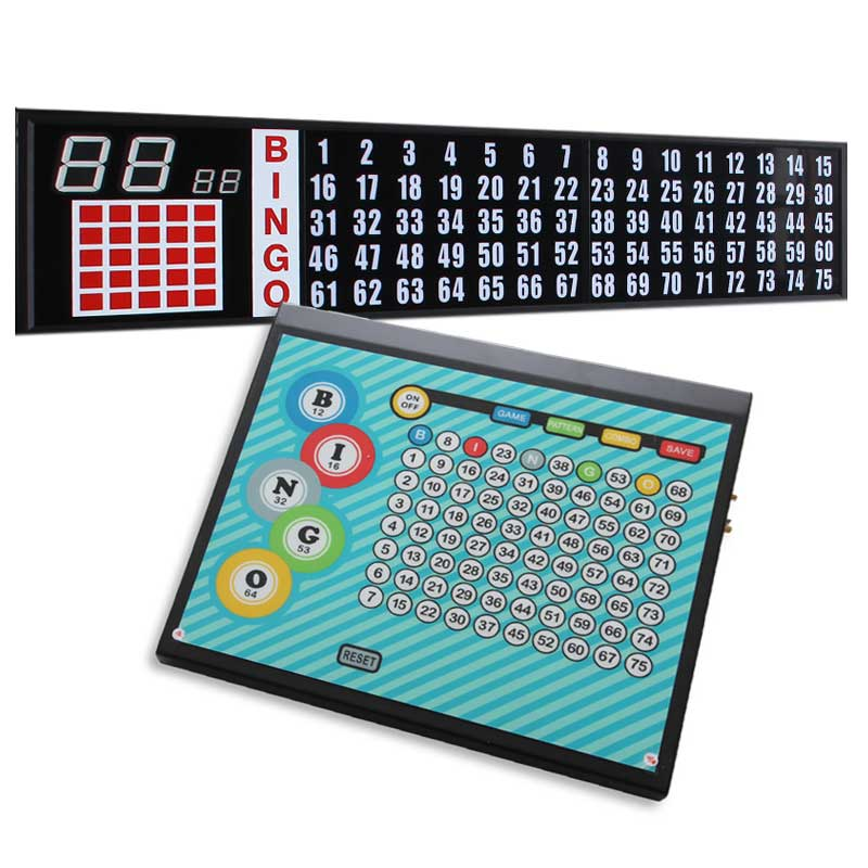 L. E. D. 5ft. Flashboard with 2 in. Numbers & Control Pad Only