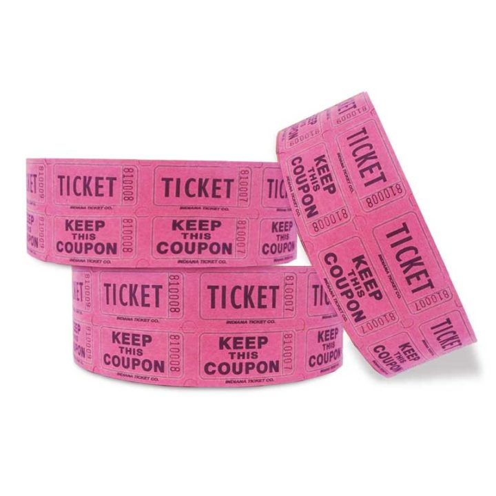 red penny roll tickets