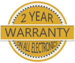 2 year waranty on all electronics