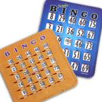 Slider and Hard Bingo Cards