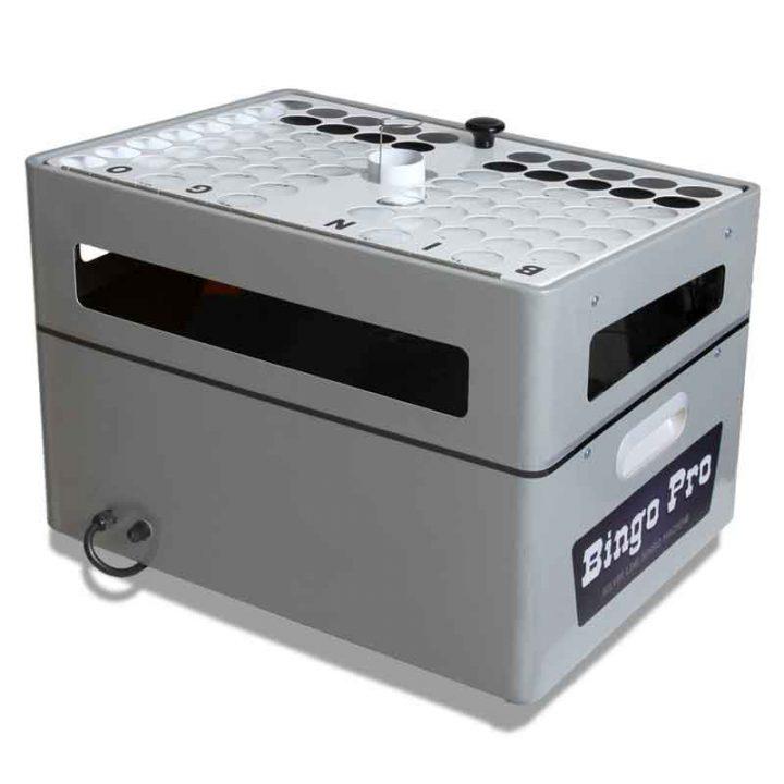 Gray Bingo Machine